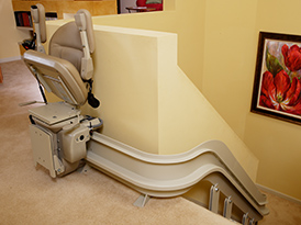 Bruno Curved Stairlift Philadeplphia