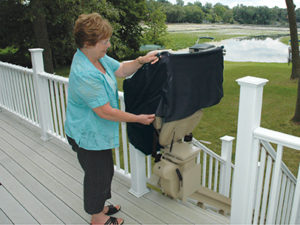 Outdoor stairlift maryland