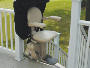 Bruno Outdoor Elite Stairlift